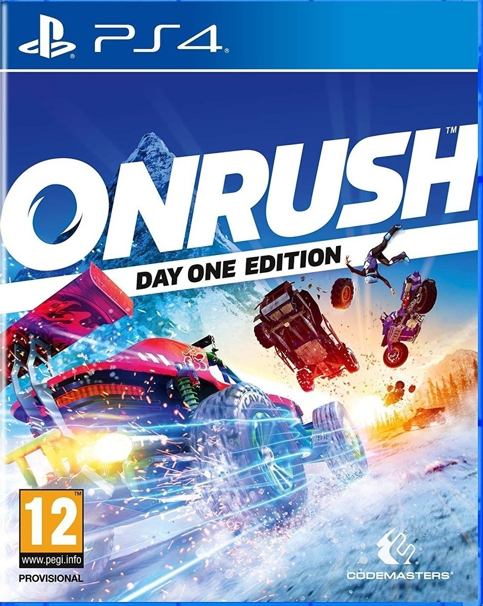 Onrush Edycja Day One (PS4)